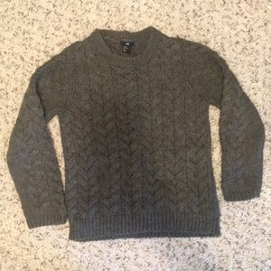 Gray H&M sweater